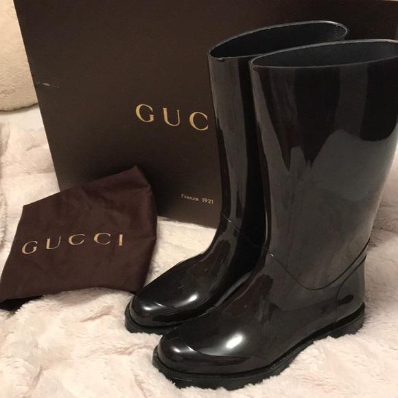 95d50e3f6b2 Gucci Shoes - authentic GUCCI rain boot ☔️
